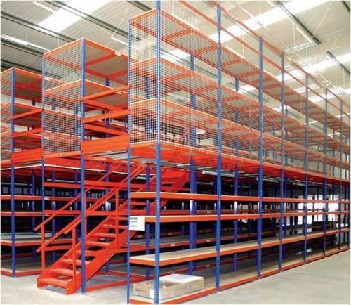 Warehouse-Storage-Mezzanine-Rack-System